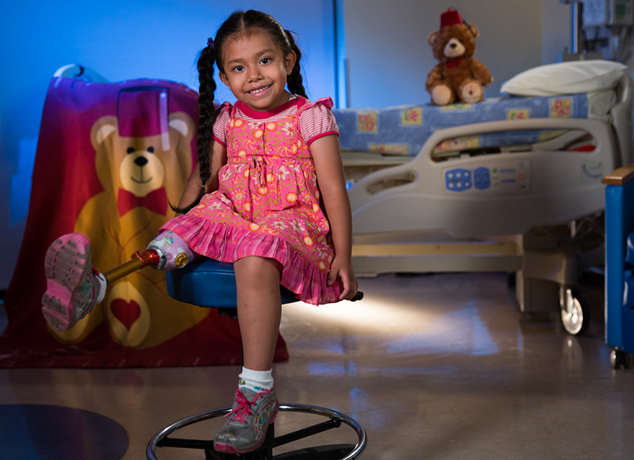 Shriners Hospitals for Children patient - Akemi
